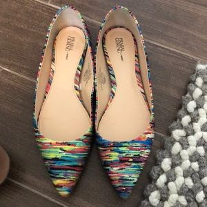 Prabal Gurung for Target multicolored flats size 9